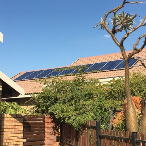 3kVA Domestic PV System with Battery Bank